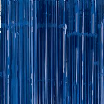 Royal Blue Door Curtain